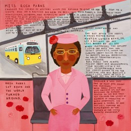 Rosa Parks On Bus, 2009