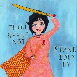 Elizabeth Taylor – Thou Shalt Not Stand Idly By, 2006