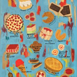 Les Desserts, 2015